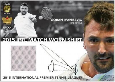 (IPTL Hobby)2015 IPTL Match Worn Shirt